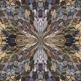 Mosaic seamless pattern. Stock Photo