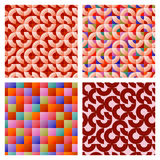 Mosaic seamless pattern background Stock Images