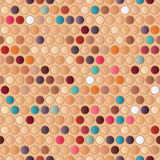 Mosaic Seamless Pattern Stock Photo