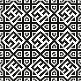 Mosaic seamless pattern. Modern geometric texture Royalty Free Stock Images