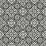 Mosaic seamless pattern. Modern geometric texture Stock Photos