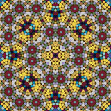 Mosaic seamless pattern. Stock Photos