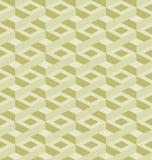Mosaic seamless pattern in retro style. Royalty Free Stock Photos
