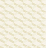 Mosaic seamless pattern in retro style. Stock Photo