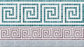 Mosaic seamless pattern Stock Photography