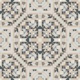 Mosaic seamless pattern. Vector illustration. Stock Photo