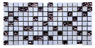Mosaic seamless texture Royalty Free Stock Photo