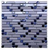 Mosaic seamless texture Stock Image
