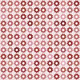 Mosaic in shades of red Stock Photography