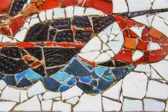Mosaic ship Royalty Free Stock Images