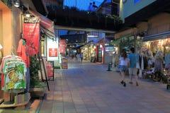 Famous MOSAIC shopping mall Harborland Kobe  Stock Images