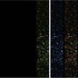 Mosaic side stripe Stock Photo