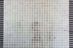 Mosaic. Silver mosaic from bath room Royalty Free Stock Photos