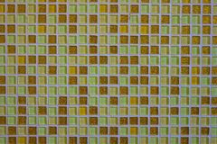 Mosaic of small square tiles. stock photos