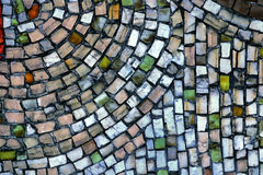 Mosaic of small stones Stock Images