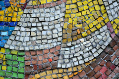 Mosaic of small stones Stock Photography