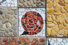 Mosaic snail Stock Photo