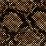 Mosaic Snake Skin Royalty Free Stock Photo