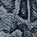 Mosaic Snake Skin Stock Photos