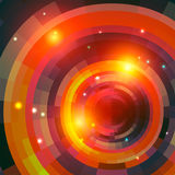 Mosaic spectrum background_fire Stock Photo