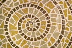 Mosaic spiral Royalty Free Stock Image