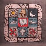 Mosaic Spirit Stock Image