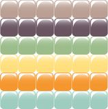 Mosaic of square elements. Glass  effect Royalty Free Stock Image