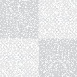 Mosaic square pixel theme pattern background Royalty Free Stock Image