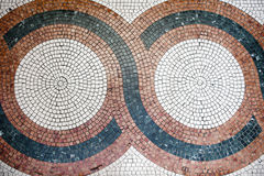 Mosaic with squares tiles Royalty Free Stock Photography