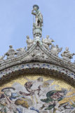 Mosaic of St Mark's Basilica Royalty Free Stock Photos