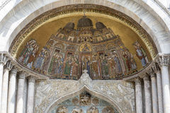 Mosaic of St Mark's Basilica Royalty Free Stock Photo