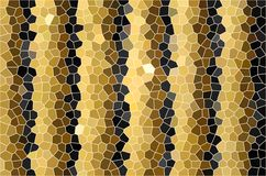 Mosaic stained  glass background Stock Photography