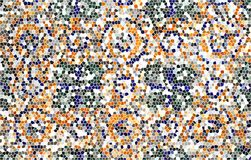 Mosaic stained  glass background Royalty Free Stock Photos