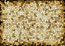 Mosaic stained glass background Stock Photo