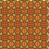 Mosaic stained glass background Royalty Free Stock Photography