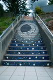 Mosaic stairs Stock Photography