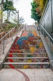 Mosaic stairs Stock Photos