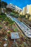 Mosaic Stairway in San Francisco, California Stock Photos
