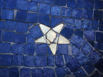 Mosaic with star Stock Photos