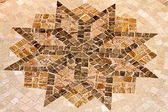 Mosaic star Royalty Free Stock Photography