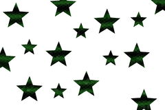 Mosaic Stars Royalty Free Stock Images