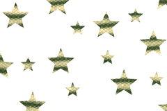 Mosaic Stars Stock Images