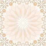 Mosaic Stars Frame Royalty Free Stock Photography