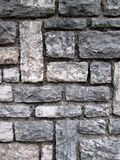Mosaic stone blocks wall Royalty Free Stock Photo