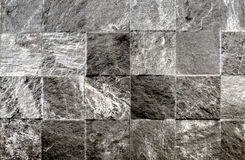 Mosaic stone wall texture background Stock Images