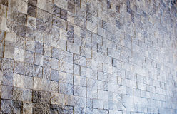 Mosaic stone wall texture background Royalty Free Stock Image