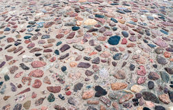 Mosaic of stones Royalty Free Stock Photography