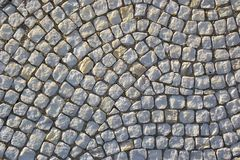 Mosaic stones on a facade Stock Photo