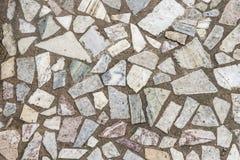 Mosaic stones on the floor royalty free stock photo
