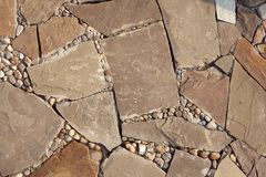 Mosaic of stones Royalty Free Stock Photos